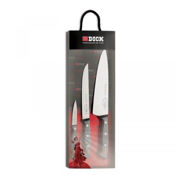 Dick Superior Messer-Set, 3-teilig, gestanzt # 8499000